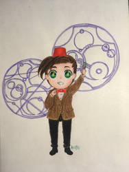 The Eleventh Doctor by RanRanArtish