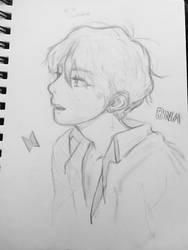 Kim Taehyung DNA by RanRanArtish
