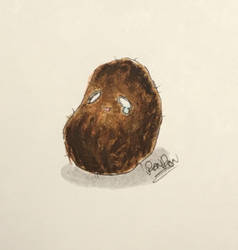 smol potato by RanRanArtish