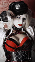 Harley Quinn Arkham Knight by Aziraphale1334