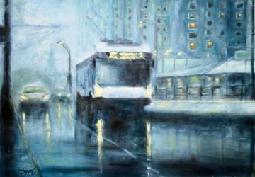Winter City by Ng-art01