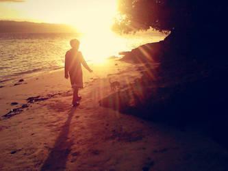 #sunrise#walkingw/hispet by adoboduckmeatshiela