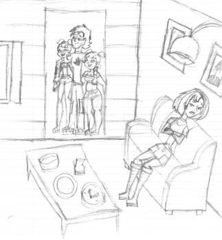 I Miss You... Sketch by DisneyWiz