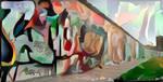 Berlin Wall by Lodrice