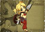 Naruto Emblem - Temari Dancer by ippus