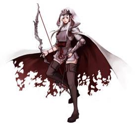 LoL: Demon Hunter Ashe by ippus