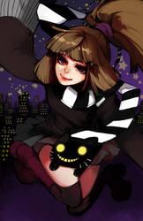 OC: City Night Witch by ippus