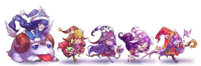 LoL: Lulu Set by ippus