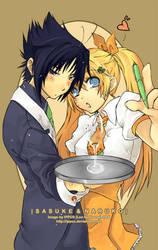 Naruto: Waiter...ess? by ippus