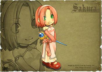 Naruto Emblem - Sakura Cleric by ippus