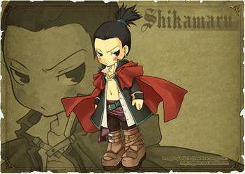 Naruto Emblem: Shikamaru Mage by ippus