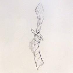 Couteau elfique by PamETlart