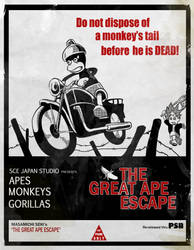 The Great Ape Escape by Seblecaribou