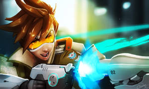 Overwatch: Tracer by rhombusarts