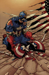 Captain America by Hitotsumami