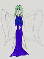 Angel girl by FallenNekoChild