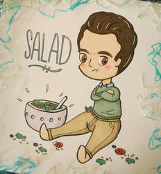 Chibi Salad by SydVC