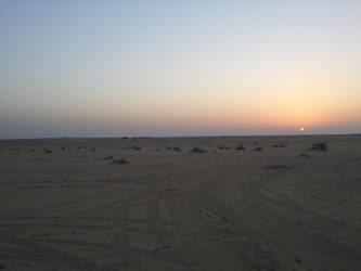 Desert Sunset by mrabudi