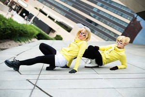 Spider-Twins Len and Rin by SoloGrayson