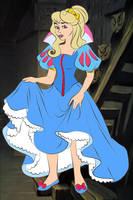 Aurora as Snow White by kingdomdisney