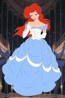 Ariel as Belle by kingdomdisney