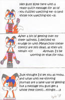 Another quick message from Kyt by KyteTheFox