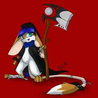 Chibi Reaper by KyteTheFox