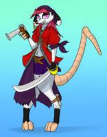 Pirate Possum by KyteTheFox