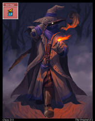 CHOW 213 Black Mage by EricYoungArt