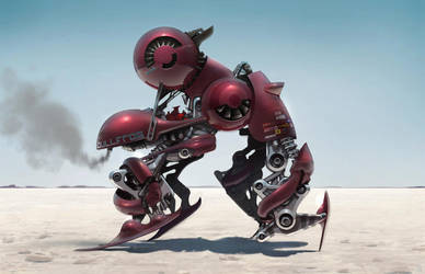 Race Bot - The Bullfrog by dannygardner
