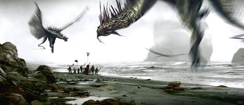 dragonsssss by dannygardner
