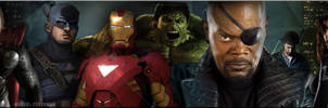 The Avengers Movie Banner: One by Marvel-Freshman