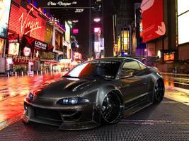 Mitsubishi Eclipse by ChitaDesigner