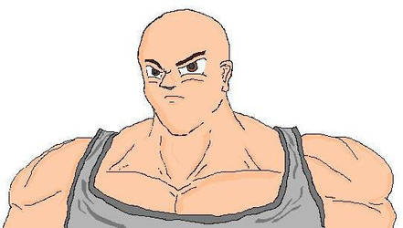 big bald guy