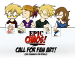 Epic Chaos Call For Fan Art by ArtByMelissaM