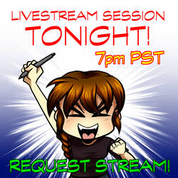 Request Stream ON! by ArtByMelissaM