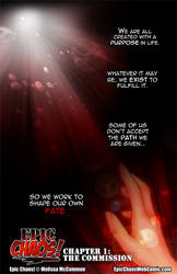 Epic Chaos! Webcomic Chapter 1 Page 1 by ArtByMelissaM