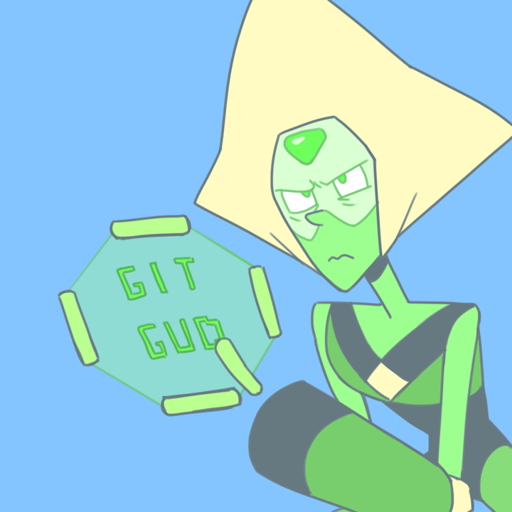 Peridot has some advice for those who're trying to beat Attack the Light...