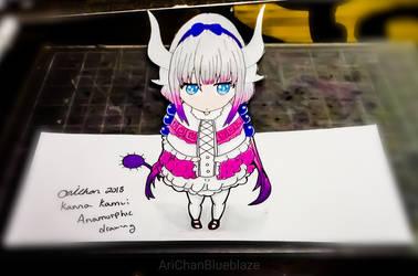3D Kanna Kamui by AriChanBlueblaze