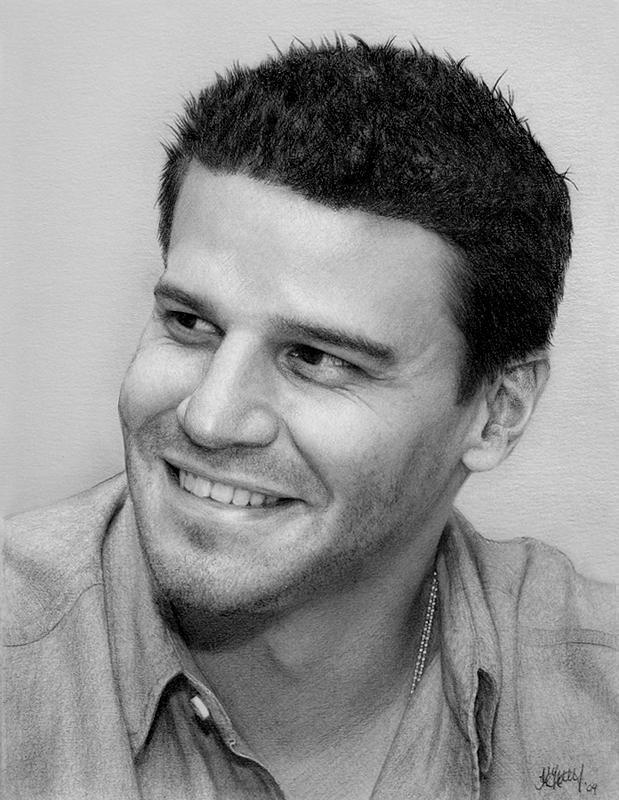 David Boreanaz by kaytii