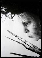 Edward Scissorhands by kaytii