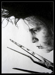 Edward Scissorhands by kaytii