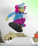 Snow Slopes by OinkTweetStudios