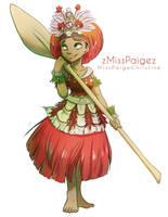 I am Moana by MissPaigeChristine