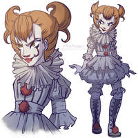 Pennywise by MissPaigeChristine