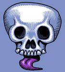 Skull Tongue by Rustyoldtown