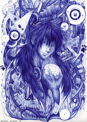 Sly Blue by Mashimoshi