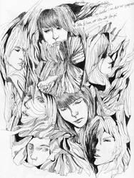 Faces 1 by Mashimoshi
