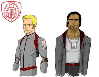 James and Garcia by Order-of-the-Glaive