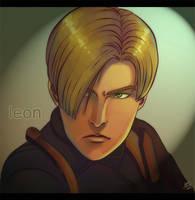 Leon - RE4 by lux-rocha
